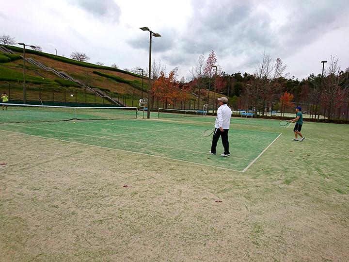 秋のテニス&バーベキュー大会